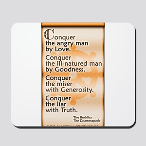 Conquer by Love Mousepad