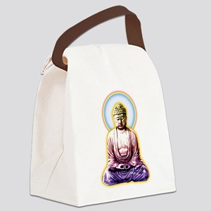 Enlightened Buddha Canvas Lunch Bag