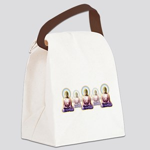 Enlightened Buddhas Canvas Lunch Bag