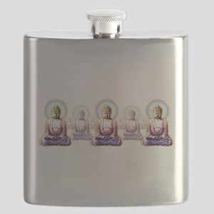 Enlightened Buddhas Flask