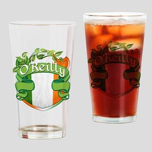 O'Reilly Shield Drinking Glass