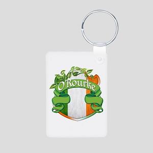 O'Rourke Shield Aluminum Photo Keychain
