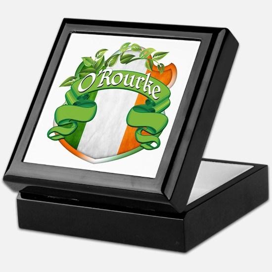 O'Rourke Shield Keepsake Box