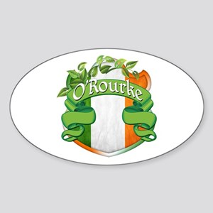 O'Rourke Shield Sticker (Oval)