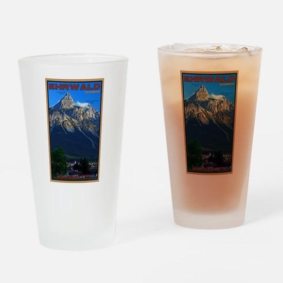 Lermoos - Sonnenspitze Drinking Glass