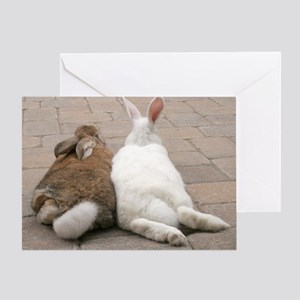 Bunny Valentine's Day Greeting Card
