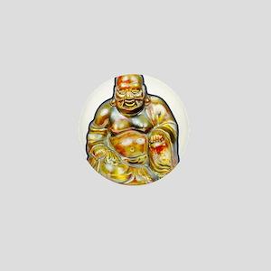 Laughing Buddha Mini Button