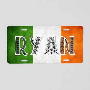 Ryan Shield Aluminum License Plate