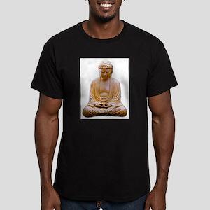 The Buddha Men's Fitted T-Shirt (dark)