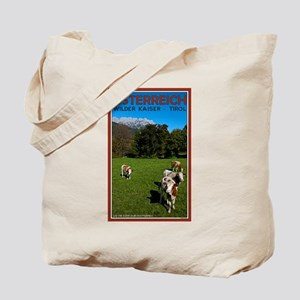 Wilder Kaiser Cows Tote Bag