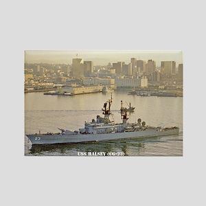 USS HALSEY Rectangle Magnet