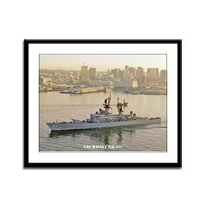 USS HALSEY Framed Panel Print