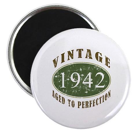 """Vintage 1942 Retro 2.25"""" Magnet (10 pack)"""