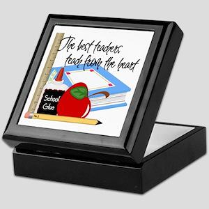 Teach From Heart Keepsake Box