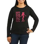 Happy New ME Women's Long Sleeve Dark T-Shirt