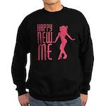 Happy New ME Sweatshirt (dark)