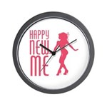 Happy New ME Wall Clock