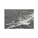 USS HULL Rectangle Magnet