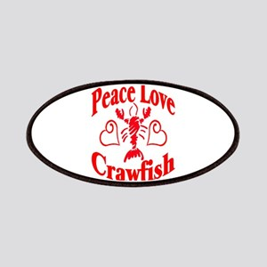 Peace Love Crawfish Patches