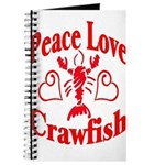 Peace Love Crawfish Journal