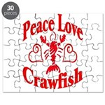 Peace Love Crawfish Puzzle