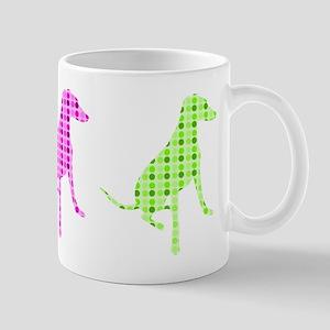 Polka Dot Hound Mug