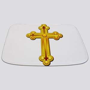 Golden Cross Bathmat