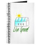 Live Green Greenhouse Journal