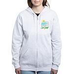 Live Green Greenhouse Women's Zip Hoodie