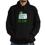 Live Green Greenhouse Hoodie (dark)