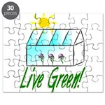 Live Green Greenhouse Puzzle