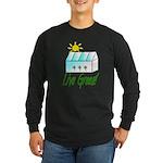 Live Green Greenhouse Long Sleeve Dark T-Shirt