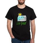 Live Green Greenhouse Dark T-Shirt