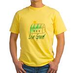 Live Green Greenhouse Yellow T-Shirt