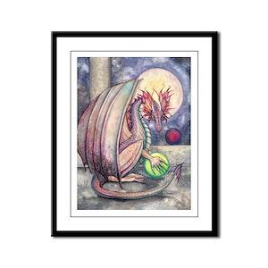 Colorful Dragon Fantasy Art by Molly Harrison Fram