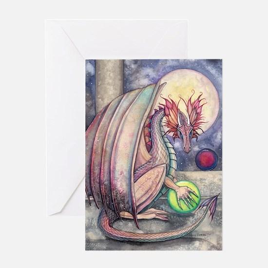 Colorful Dragon Fantasy Art by Molly Harrison Gree