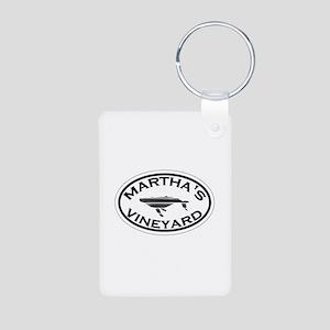 Martha's Vineyard MA - Oval Design. Aluminum Photo
