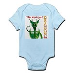This day is just dragon on. Infant Bodysuit