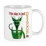 This day is just dragon on. Mug