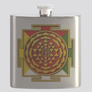 Sri Yantra Mandala Flask