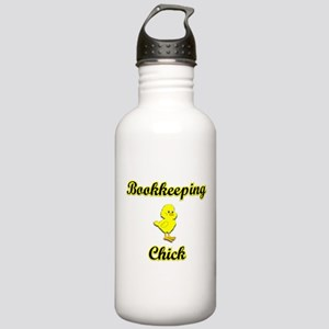 Bookkeeping Chick Stainless Water Bottle 1.0L
