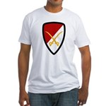 6th Cavalry Bde Fitted T-Shirt