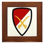 6th Cavalry Bde Framed Tile