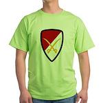 6th Cavalry Bde Green T-Shirt