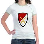 6th Cavalry Bde Jr. Ringer T-Shirt