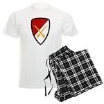 6th Cavalry Bde Men's Light Pajamas