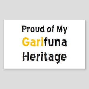 garifuna heritage Sticker (Rectangle)