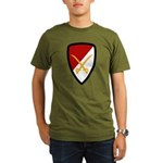 6th Cavalry Bde Organic Men's T-Shirt (dark)