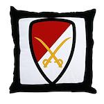 6th Cavalry Bde Throw Pillow