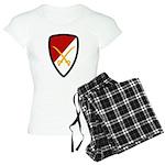 6th Cavalry Bde Women's Light Pajamas